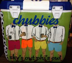 chubbies cooler idea phi delt fraterity sky's out thighs out