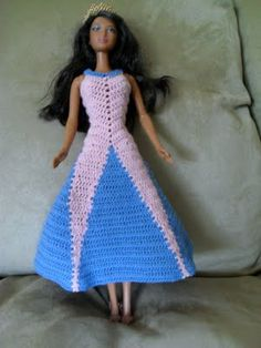 ZigZag Long Dress - Hazel3Crochets