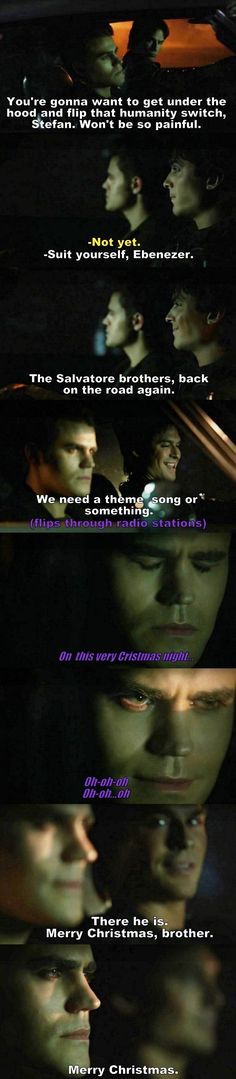 The Vampire Diaries TVD S08E07 - Damon and Stefan