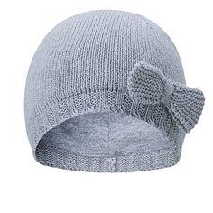 vivobiniya Toddler Baby Girl Lovely Bowknot Knit Hats Baby Hats Old  Circumference Grey) ec6d1ee19df6