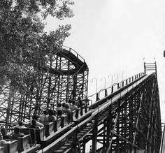 Coaster at Euclid Beach Park.