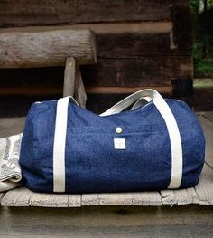 The Dakota Denim Duffel Bag