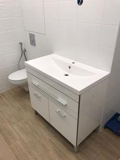 Vanity, Bathroom, Painted Makeup Vanity, Washroom, Lowboy, Dressing Tables, Bath Room, Bathrooms, Single Vanities