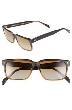 SALT 'Wooderson' 55mm Polarized Sunglasses