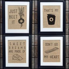 Best Selling Funny Kitchen Burlap Prints Unique by MilsoMade