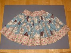 twirly skirts.  These are my favorite skirts to make.  SO easy and so quick and SO SO SO cute.