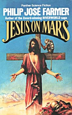 In Philip José Farmer's science fiction novel   Jesus on Mars (1979), astronauts discover  Jesus living on Mars among humans and an  alien race, the Krsh.    Jesus leads a flotilla of spaceships back  to Earth, offering salvation and immortality.     Not surprisingly mankind rejects the offer.    Check out the complete plot summary   found at Wikipedia.