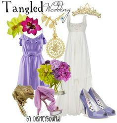 Tangled Wedding Outfit