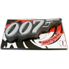 007 Gun Cake