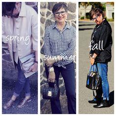Three different handbags for three different seasons