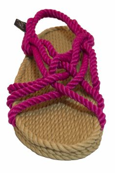 5d4d364e72ed Our JC rope sandal in camel and fushcia is perfect for adventurous women! Rope  Sandals