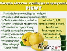 Zielone koktajle: sok z trawy pszenicznej + jabłko + pigwa + jarmuż + ananas