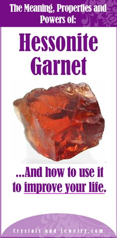 Hessonite Garnet Meaning