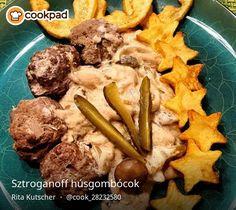 Sztroganoff húsgombócok Chicken, Cooking, Food, Kitchen, Essen, Meals, Yemek, Brewing, Cuisine