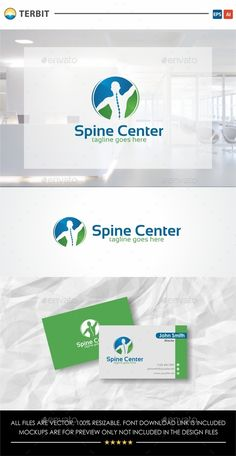 Buy Spine Center by Terbit on GraphicRiver. Spine Center The logo is very simple and clean. Easily recognized at a glance. File included : - EPS and AI. Best Logo Design, Branding Design, Graphic Design, Medical Health Care, Clinic Logo, Chiropractic Clinic, Pharmacy Design, Hospital Design, Typo Logo