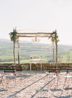 wedding arch ~  we ❤ this! moncheribridals.com  #weddingceremonydecor
