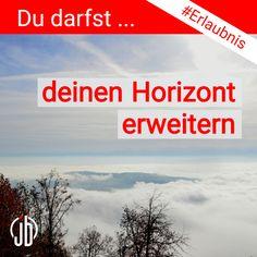 Erlaubnis für die Woche:  🗯 Du darfst deinen Horizont erweitern  Was tust du, um deinen Horizont zu erweitern? Calm, Artwork, Work Of Art, Auguste Rodin Artwork, Artworks, Illustrators