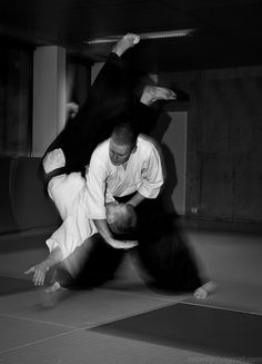 Aikido 合気道 by johnsarelli, via Flickr