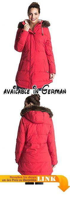 Damen winterjacke mit kapuze und kordelzug