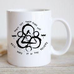 Coheed and Cambria Scare You Coffee Mug