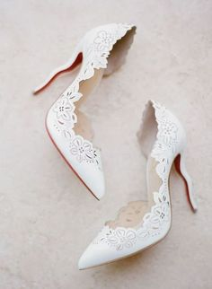26 Non-Boring White Wedding Shoes Today the most popular wedding shoes are colo . 26 Non-Boring White Wedding Shoes Today the most popular wedding shoes are colorful ones to wear af Wedding Dress Trends, Wedding Blog, Wedding Day, Lace Wedding, Trendy Wedding, Wedding Ceremony, Destination Wedding, Light Wedding, Wedding Rings
