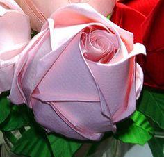 Origami rose :)