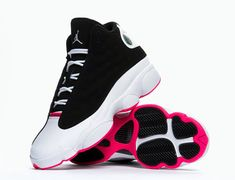 air-jordan-13-gs-black-white-hyper-pink-02.    Come out on November 22 but remember they like to be out sooner soo watch the shelves