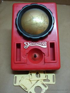 Skedoodle: 1970's toy - predecessor to the Etch-A-Sketch. Some of my friends had this and I thought they were so cool!