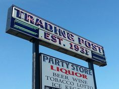 The Trading Post Sign Standish Mi