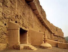 The Dunhuang Grottoes includes the Yulin caves. At Yulin, constuction began in the fifth century and continued into the early 1900s. The Yulin caves can be visited on a long and adventurous day-trip, since there are no hotels in Anxi, the nearest town.