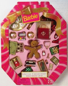 Barbie Holiday Presents Gift Set Special Collection (NEW) #Mattel