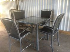 Outdoor Setting Glass Table High Chairs Great Quality Delivery Outdoor Dining Furniture Gumtree Australia Townsville City Nort Outdoor Dining Furniture