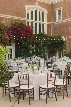 #chair  Photography: Carlie Statsky Photography - carliestatsky.com  Read More: http://www.stylemepretty.com/2014/06/10/outdoor-elegance-at-the-kohl-mansion/