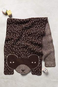 Hibernating Bear Activity Blanket - anthropologie.com
