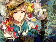 Life in color.  he looks like enoyan senpai from mikagure school, i just saw the anime today!