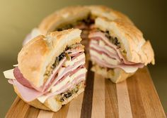 OMG this is the best sandwich in the world... The Cajun Muffaletta