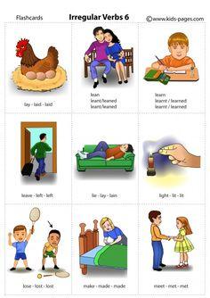 Learn English Grammar, English Vocabulary Words, English Language Learning, Learn English Words, Teaching English, English Lessons For Kids, Kids English, English Reading, English Pronouns