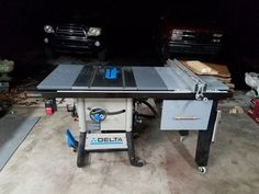 Table saw router extension delta 36 725 woodworking pinterest table saw router table scap wood bin and drawer greentooth Images