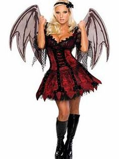 Rubies Halloween V&ire Fairy Costume - Size 8-10 Youll be sure to look the  sc 1 st  Pinterest & 18 best Fancy Dress Costumes images on Pinterest | Artistic make up ...