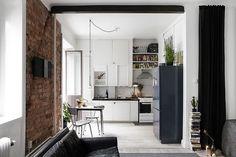 compact wonen op 47m2 mein haus einrichtung und wohnen. Black Bedroom Furniture Sets. Home Design Ideas