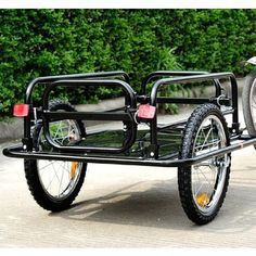 Bicycle cargo trailer from Sears