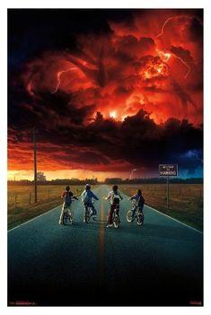 Stranger Things 2 Key Art Poster 34x22 | #strangerthings #ad #tv