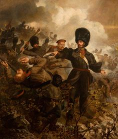 Lieutenant Colonel Sir Charles Russell (at the Battle of Inkermann, 5 November 1854)