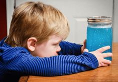 Instead of time out, try creating a calm down jar that your child can focus on for a few minutes. Maria Montessori, Calm Down Jar, Sensory Bottles, Time Kids, Swim Lessons, Gentle Parenting, Yoga For Kids, Fun Activities For Kids, Children