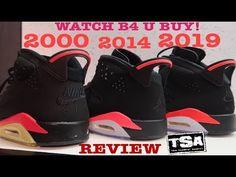 uk availability 5d4a6 06c7f Air Jordan 6 2018 Infrared Retro Sneaker Review   Comparison VS 1991,2000    2014 Shoes With Dj Delz