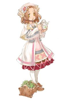 Rune Factory Violet (For some reason I really like her character design.)