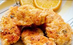 Weight Watchers Parmesan Chicken Cutlets Recipe Main Dishes with parmesan cheese, Italian style breadcrumbs, paprika, dried parsley, garlic powder, ground pepper, boneless skinless chicken breasts