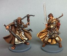 CoolMiniOrNot - Zombicide Black Plague - Karl & Theo - Wulfsburg by Little Cor