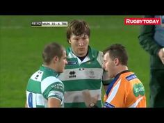 """Rugby Referee Nigel Owens Tells Player """"This Is Not Soccer"""" - YouTube"""