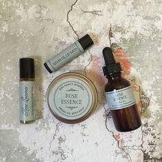 ROSE ESSENCE Gift Set Roll On Perfume Body by ElsaNancySoaperia